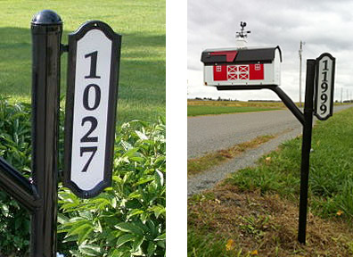 reflective-black-border-address-signs